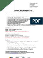 Wild Wild Birthday Package 2013