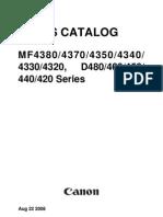 Canon MF4300 Series-parts