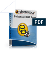 Backup Exec BKF Repair Software