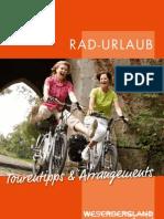 Rad-Urlaub 2013 im Weserbergland