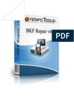 Advanced BKF Repair Software