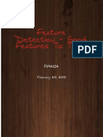 Overview of Good Features to Track Feature Detector
