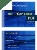 RCP Pediatrico - Ana Elida e Nilcyeli Aragao