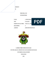 Laporan Praktikum Biologi II
