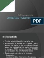 Arterial Puncture