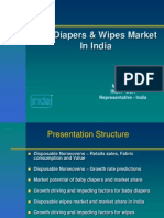 43598739 Diaper Market in India