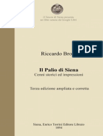 Riccardo Brogi - Il Palio di Siena (1894)