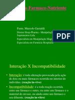 Interação Farmaco nutriente Marcelo Gastaldi