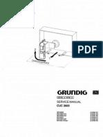 Chasis CUC3800 Manual de Servicio