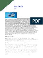 Spektofotometri UV