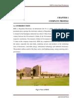 a report on emt & solar panel production REIL