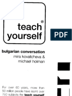 01 Teach Yourself Bulgarian Conversation