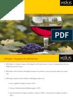 Krus Wine Catalogue