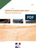 SETRA_DT35626controle de La Securite Des Projets Routier_Demarche Qualite