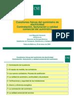Cuestiones físicas del suministro de electricidad Palma 25-03-09 LUIS MAQUEDA HERNANDO