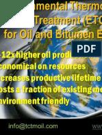 BM for Faster Oil Extraction