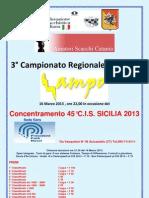 3°Campionato Lampo Sicilia 2013