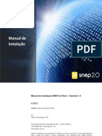 Manual Instalacao SNEP 20 Store
