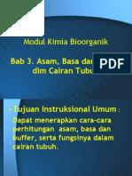 Presentasi Modul Asam Basa Buffer