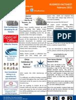 Ortus Business Factsheet February 2013