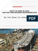 Safety of Ships in Yard