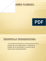 TEORÍA DEL CAMBIO PLANEADO