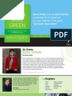 Go Green, $ave Green - Press Kit