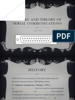 History and Theory of Serial Communications