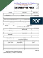 Ncfp Membership Form