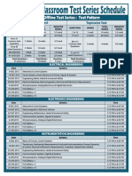 Made Easy Time Table