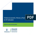 Informe Violencia Juvenil El Salvador