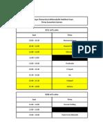 2013 Kariyer Fuarı Sunum Programı