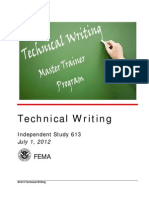 Is 613TechnicalWriting