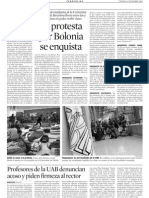 Laprotesta por Bolonia se enquista