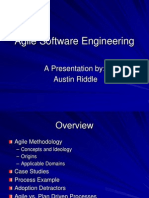 Agile Software Engineering