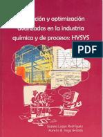 Simulacion y Optimizacion Avanzadas en La Industria Quimica y de Procesos HYSYS - Susana Luque