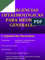 EMERGENCIAS OFTALMOLÓGICAS PARA MÉDICOS GENERALES