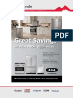$200 or $500 Mail In Rebate on AGA Pro+ Appliances