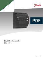 Controlador de Nivel Danfoss EKC347
