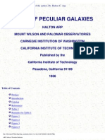 The Atlas of Peculiar Galaxies - Halton Arp