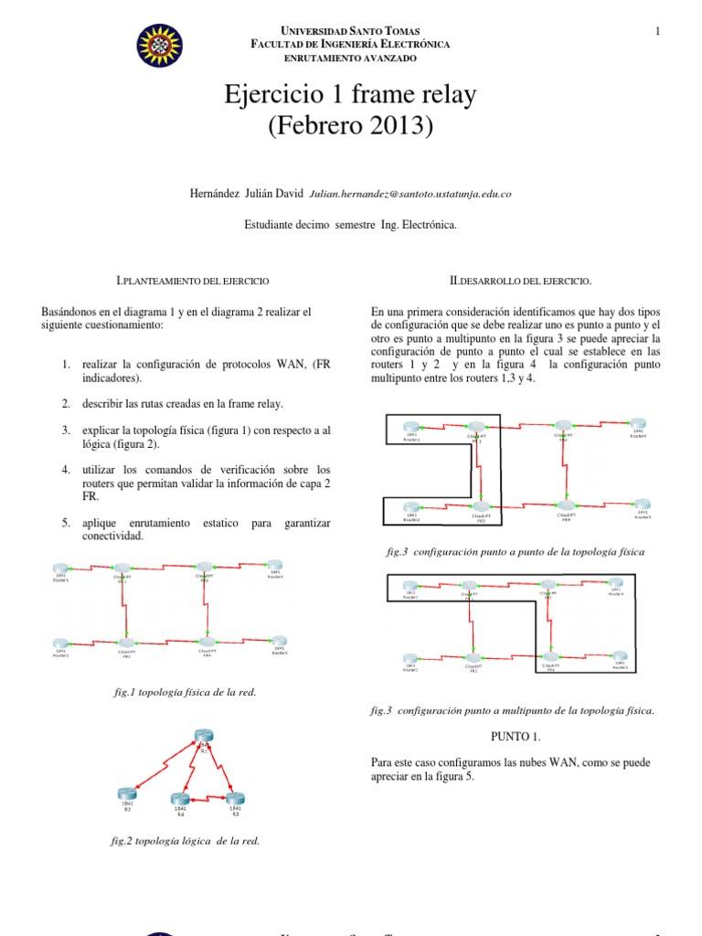 Ejercicio Frame Relay