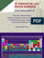 Bioinorganica II 2011