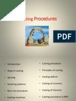 Casting Procedures 97