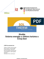 Solarna Energija u Sektoru Turizma u CG