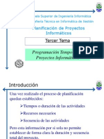 1 A - Sistemas de Información -  Planificación Temporal de Proyectos