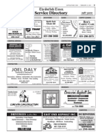 Suffolk Times Service Directory Feb. 21, 2013