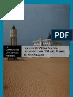 Les SERMONS de Seydina Limamou Lahi PSL Al Mahdi Al Mountazar