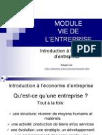 1- Economie d'Entreprise