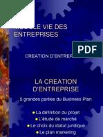 2- Création d'entreprise