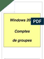 06-W2000 Compte de Groupe